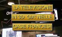 La Televisione 3D in Francia