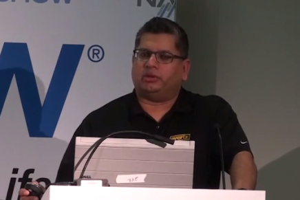 NAB 2015 – La conferenza di Mo Goyal di Evertz