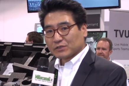 NAB 2015 – Intervista a K.Shin di Tvu e F.Veggiato Professional Show