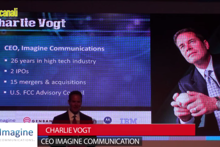 IBC 2015: Charlie Vogt, Ceo Imagine Communications