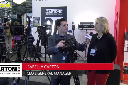 IBC 2015:  Isabella Cartoni, Ceo e General Manager Cartoni