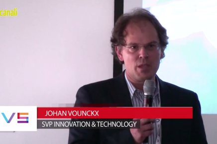 IBC 2015: Johan Vounckx, SVP Innovation & Technology  Evs
