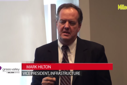 IBC 2015: Mark Hilton, Vice President infrastructure, Grass Valley