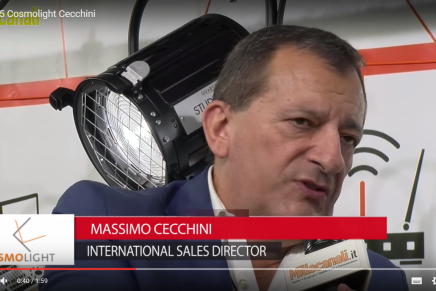 IBC 2015: Massimo Cecchini, International Sales Director, Cosmolight