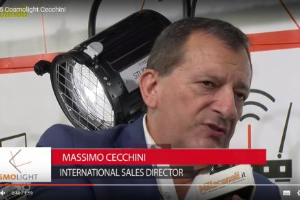IBC 2015: Massimo Cecchini, International Sales Director, Cosmolight