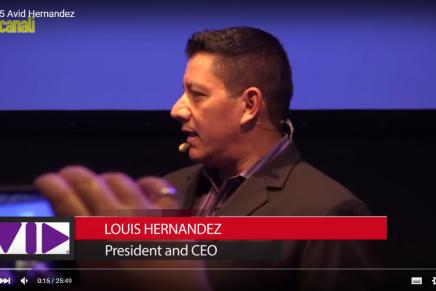 IBC 2015: Louis Hernandez, President and CEO Avid