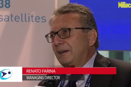 IBC 2015: Renato Farina e Cristiano Benzi, Eutelsat