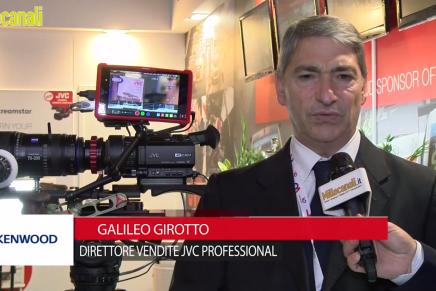 IBC 2015: Galileo Girotto, Direttore Vendite JVC Professional, JVC Kenwood