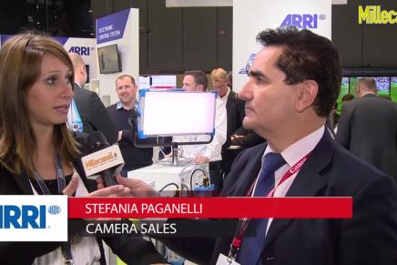 IBC 2015: Stefania Paganelli, Camera Sales, Arri