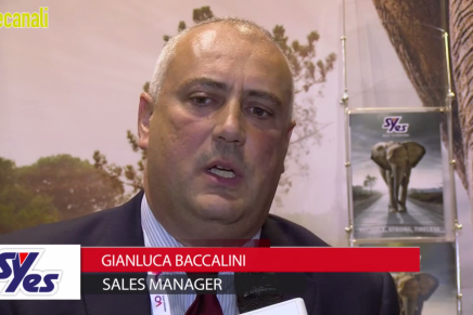 IBC 2015: Gianluca Baccalini, Sales Manager, Syes