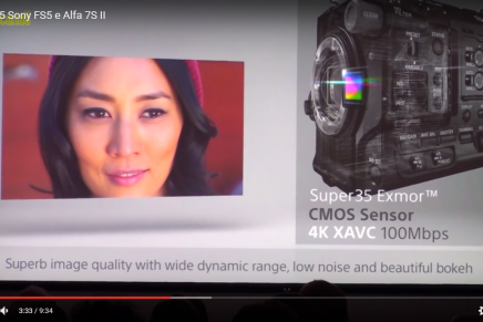IBC 2015: Sony FS5 e Alfa 7S II