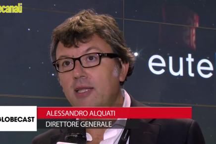 IBC 2015: Alessandro Alquati, Direttore Generale, Globecast