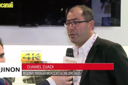 IBC 2015: Djamel Djadi, Regional Manager Broadcast & Cine Lens Sales, Fujinon