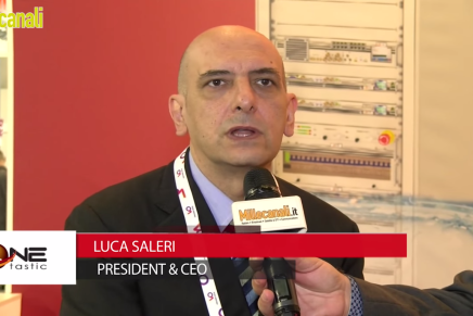 IBC 2015: Luca Saleri, President and CEO, One Tastic
