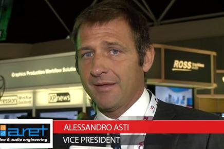 IBC 2015: Alessandro Asti, Vice President Aret