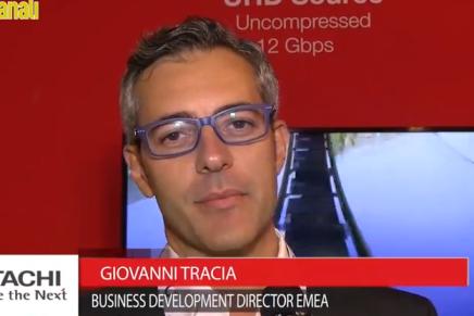 IBC 2015: Giovanni Tracia, Business Development Director Emea Hitachi