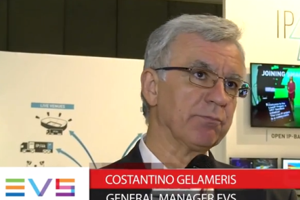 IBC 2015: Costantino Gelameris, General Manager Evs
