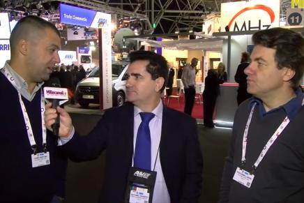 IBC 2015: Fabio Bertini e Giovanni Lorini, Production e Technical Manager Telerecord