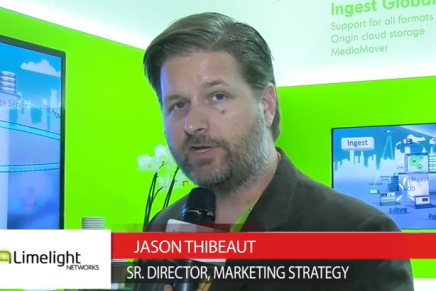 IBC 2015: Jason Thibeaut, Sr. Director Marketing Strategy Limelight Networks
