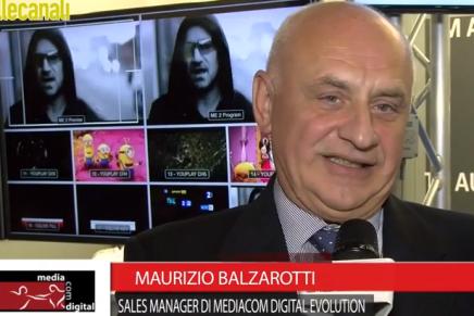IBC 2015: Maurizio Balzarotti, Sales Manager Mediacom Digital Evolution