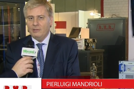 IBC 2015: Pierluigi Mandrioli, International Sales Manager R.V.R.