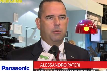 IBC 2015: Alessandro Pateri, Sales Manager Broadcast Pro Camera, Panasonic