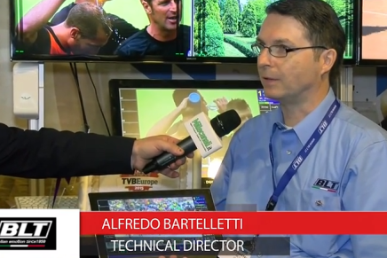 IBC 2015: Alfredo Bartelletti, Technical Director BLT
