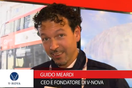 IBC 2015: Guido Meardi, Ceo e Fondatore V-Nova
