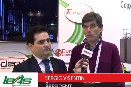 IBC 2015: Sergio Visentin, President Ibas
