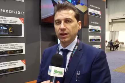 Nab 2016, Enrico Vaccari, Sales Manager Axel Technology