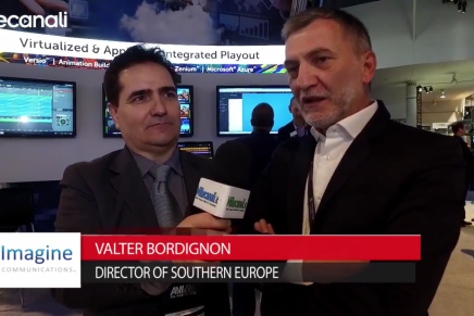 NAB 2016, Walter Bordignon, Director of Southern Europe, Imagine Communications