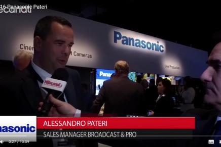 Nab 2016, Alessandro Pateri, Manager Broadcast & Pro, Panasonic