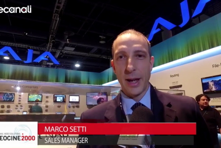 Nab 2016, Marco Setti, Sales Manager, Videocine 2000