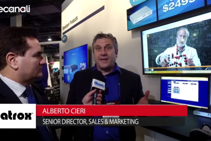 Nab 2016, Alberto Cieri, Senior Director Sales & Marketing, Matrox