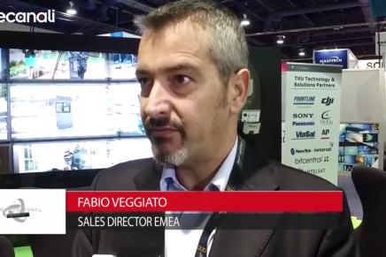 Nab 2016, Fabio Veggiato, Sales Director Emea, Professional Show