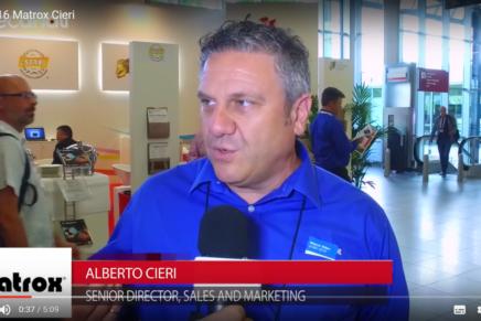 IBC 2016, Alberto Cieri, Matrox