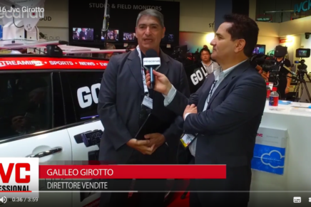 IBC 2016: Galileo Girotto, JVC