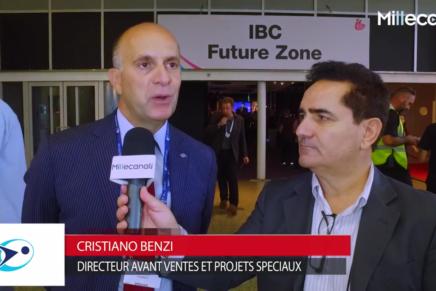 IBC 2016: Cristiano Benzi, Eutelsat