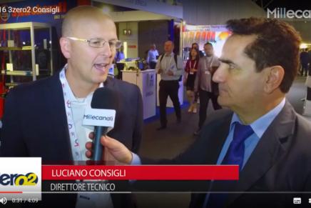 IBC 2016:  Luciano Consigli, 3zero2